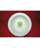Crown Ducal #A3122 Black Bead Border Rimmed Cereal Bowl - $5.66