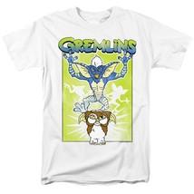 Gremlins  Mogwai T-shirt retro 80s movie distressed  graphic cotton white tee image 2