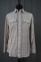 Vintage 80's Levi's Long Sleeve Button Down Shirt XL, Western, Rodeo, Country - $29.95