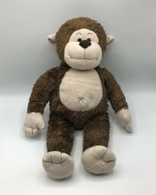 RETIRED BABW Build A Bear Workshop Marvelous Monkey Brown Plush Stuffed ... - $19.79