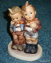 """MAX AND MORITZ"" Hummel Figurine #123 TMK6 Big Brother And Little Brothe... - $126.09"