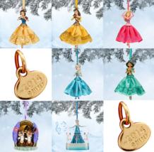 Disney Store Sketchbook Christmas Ornament Belle Aurora Jasmine Snow Whi... - $44.95