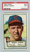 1952 Topps Mickey Harris #207 PSA 5 P665 - $27.98