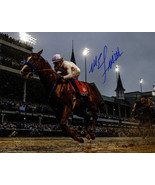 Mike E. Smith signed Justify 2018 144th Kentucky Derby 8x10 Photo Triple Crown-  - $78.95