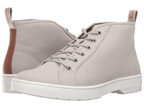 Dr. Martens Coburg 6-Eye Canvas Chukka Boot Men's Greystone Men's Shoes Sz 9 M - $46.16