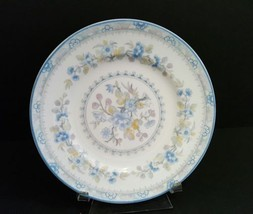 Coalport Bone China Pearl Bread & Butter Plate 6-1/4 Inches Blue Floral - $7.50