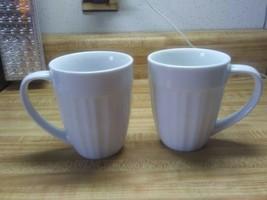 Corningware french white coffee mugs tableware - $19.79