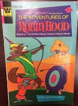 Walt Disney's THE ADVENTURES OF ROBIN HOOD #4 (1974) Whitman Comics VG+ - $9.89