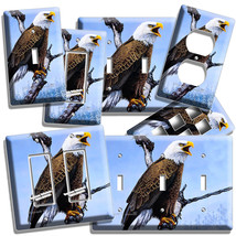 American Bald Eagle In The Wild Light Switch Outlet Wall Plates Home Room Decor - $8.99+