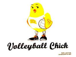 Gildan T-shirt Chick Cotton Volleyball L XL 2XL NEW Sports Girls NWT White - $20.20