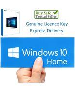 Microsoft Windows 10 HOME 32 64 bit License Key Product Key Code - $7.99