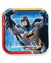 American Greetings Batman Party Supplies Disposable Paper Dessert Plates, 8-Coun - $3.71