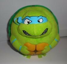 Ty Teenage Mutant Ninja Turtles Leonardo B EAN Ie Ballz Stuffed Animal Plush Toy - $13.33