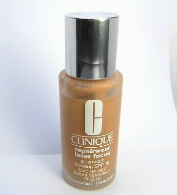 Primary image for CLINIQUE Foundation Shade 12 Repairwear Laser Focus ~DAMAGED As is See pic