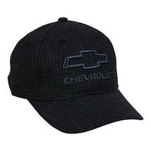 Chevrolet Baseball Hat Chevy Wool Blend Cap Black - $14.36