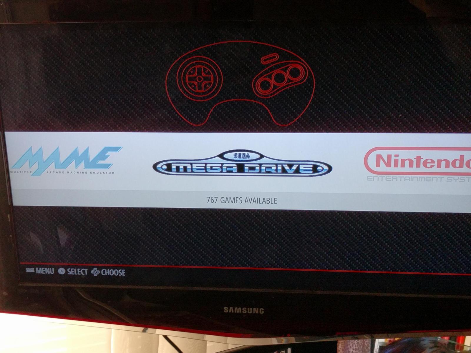 Raspberry Pi 3 mini Sega Genesis 16GB with Controller. Plays thousands of games