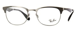 NEW AUTHENTIC RAY- BAN FRAME RB 6346 2553 BRUSHED GUNMETAL 50-19-140 - $76.19
