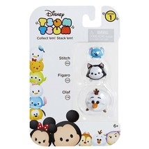 Disney Tsum Tsum Stackable Collectible Figures Series #1 Stitch Figaro Olaf - $3.95