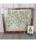 Hallmark Keepsake Family Tree Photo Ornament Display Shadow Box 10 Leaf ... - $39.91
