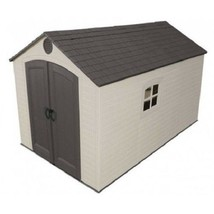 Lifetime 8x12.5 ft Plastic Storage Shed Kit (6402) - $1,469.93