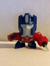 Fast Food Toy McDonald's Transformers Optimus Prime Hasbro 2018 - $0.98