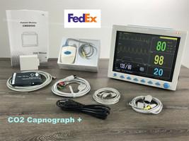 Free Capnograph etCO2 Vital Signs Patient Monitor Multi parameter CONTEC... - $691.02