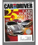 Car and Driver Magazine April 2012- Mercedes-Benz ML63 AMG, Mini Cooper ... - $6.92