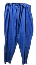 Dickies Uniform Royal Blue Unisex Drawstring 5XL Medical Uniform Scrub P... - $19.57