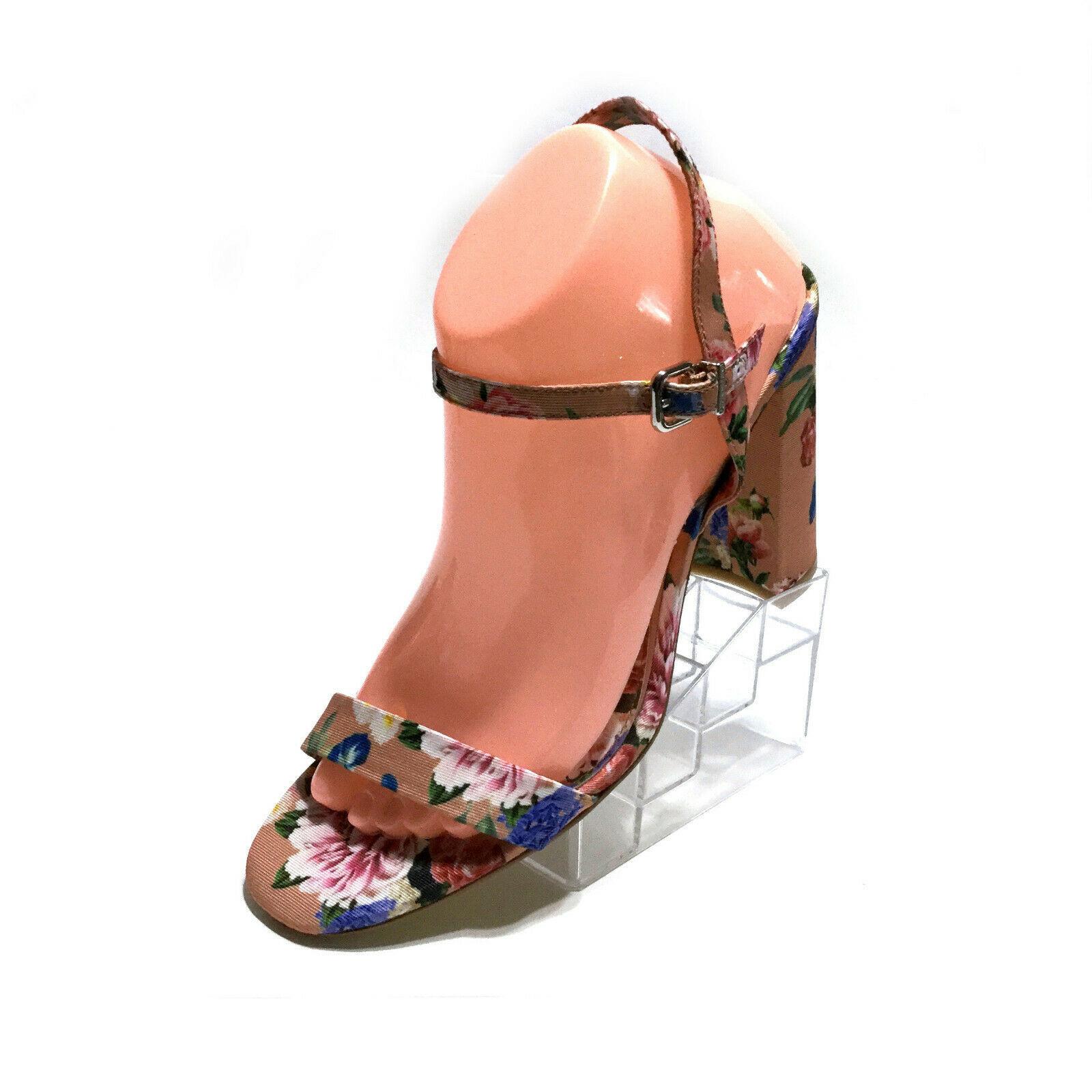 Gianni Bini McKaria Floral Print Block Heel Dress Sandals Size 9  M - Worn Once - $23.74