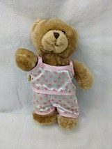 "Build a Bear Plush 8"" Pink Heart Pajamas 2007 Stuffed Animal Toy - $12.95"