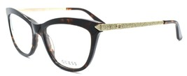 GUESS GU2655 052 Women's Eyeglasses Frames 53-17-135 Dark Havana + CASE - $64.15