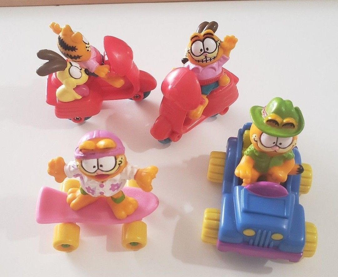 Fast Food Toys & Hobbies *Pick 1* 1988 McDonald's Garfield Happy Meal Fast Food Premium *Sealed*