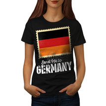 Germany Trip Flag Holiday Shirt World Map Women T-shirt - $12.99