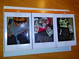 4ft Hanging Halloween Decorations Lighted Head Realistic Bone Lot of 3  - €16,37 EUR