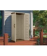 Suncast Vertical Utility Shed, Garden,Patio,Storage,Outdoor,Lawn, Utilit... - $284.95