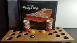 Brand New Mini Portable Folding Beer Pong Mini Folding Game board 20 cups - $22.97