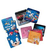 Sonic the Hedgehog Game Art 10 Piece Coaster Set in Tin Storage Box NEW ... - $19.34