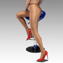 Ladies Shiny Tights Pantyhose High Gloss Dancer Cheerleader Hooters Uniform S-XL - $7.65+