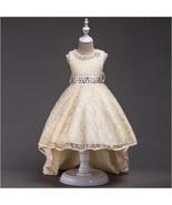 Flower Girl Dress Wedding Bridesmaid Birthday Pageant Formal Party Costu... - $35.95