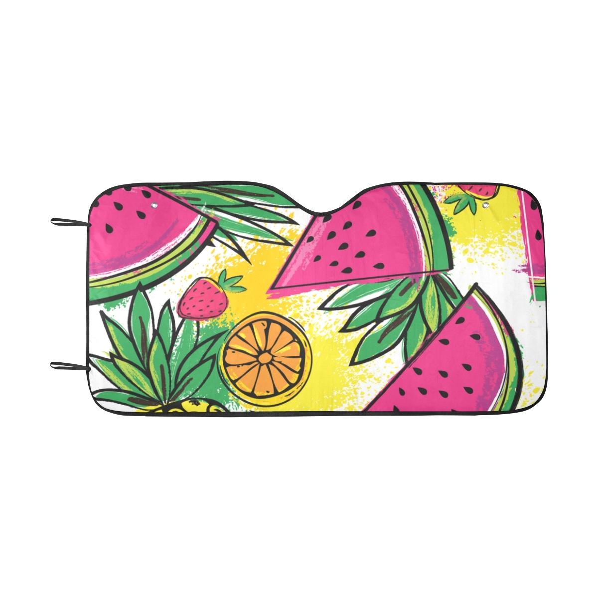 Painting Walls In Shades Of Melon: Car Sun Windshield Shade Fashion Summer Fruit Watermelon