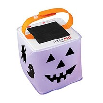 LuminAID Halloween Solar Jack-o-Lantern | Customizable and Great for Tri... - $30.46