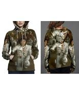 Michael Jackson Tour Women's Zipper Hoodie - $49.80+