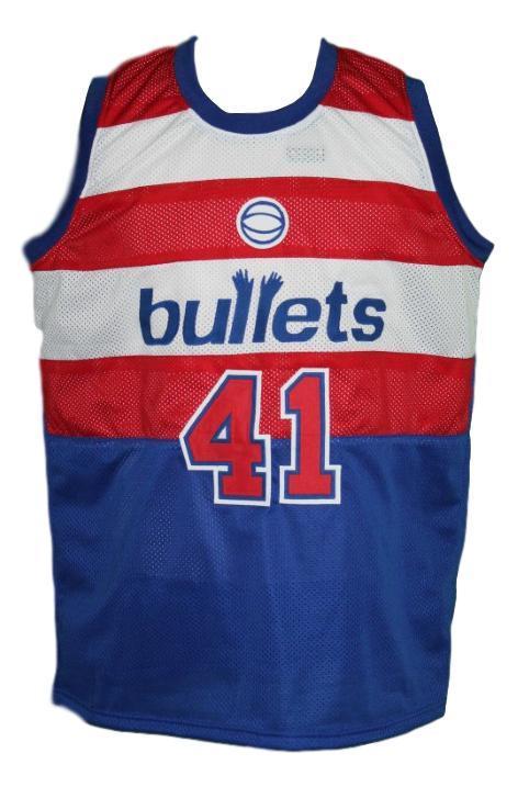 Wes unseld  41 baltimore washington retro basketball jersey   1