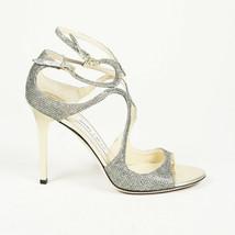 Jimmy Choo Metallic Strappy Sandals SZ 39 - $305.00