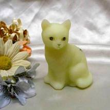3723 Fenton Pink Blossoms Sitting Kitty - $45.00
