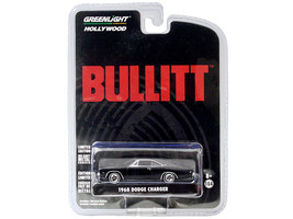 1968 Dodge Charger R/T Bullitt (1968) Movie 1/64 Diecast Model Car by Greenlight - $20.99