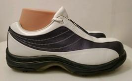 FootJoy Purple Contour Series Soft Spike Lace-Up Golf Shoes for Women, 7 M - $18.70