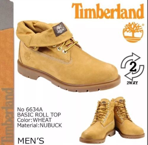 Timberland Mens Wheat Basic Roll Top Casual and 50 similar items