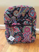 Vera Bradley Campus Backpack Parisian Paisley Back to School College NWT... - $61.88