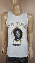 Dr. Dre The Chronic White Tank Top Nwa West Coast 2PAC La Row Snoop Cube - $18.99+